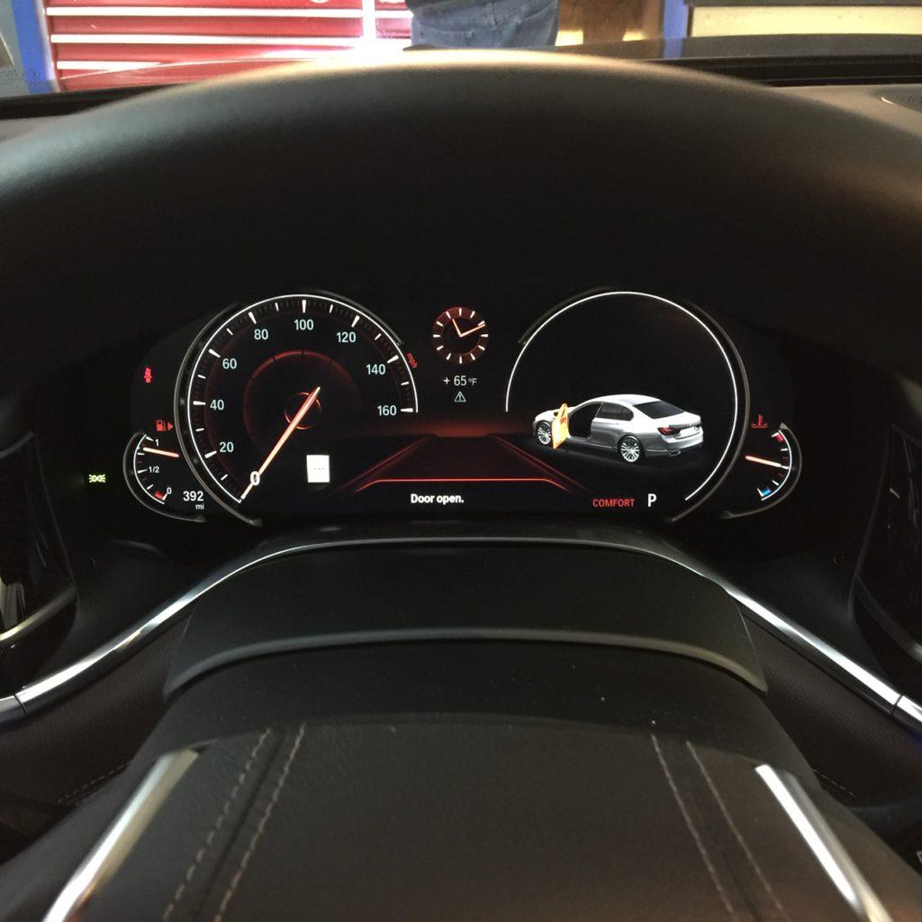 BMW 750 K40 Radar System